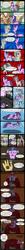 Size: 750x7557 | Tagged: safe, artist:scyphi, applejack, discord, fluttershy, pinkie pie, rainbow dash, rarity, spike, tom, twilight sparkle, chocolate milk, comic, discorded, flutterbitch, liarjack