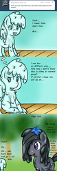 Size: 750x2248 | Tagged: artist:freefraq, goo pony, ink, marble pie, oc, oc:shiny slime, original species, safe, slime, tumblr