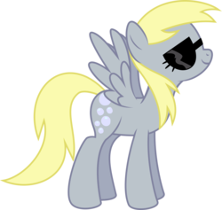 Size: 3688x3500 | Tagged: artist:blueblitzie, derpy hooves, female, mare, pegasus, pony, safe, simple background, sunglasses, swag, transparent background, vector