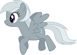 Size: 900x636 | Tagged: safe, artist:silvervectors, silverspeed, pegasus, pony, background pony, female, mare, simple background, solo, transparent background, vector