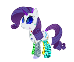 Size: 5000x4233 | Tagged: safe, artist:ambassad0r, rarity, gem pony, series:magic is powerful, absurd resolution, petrification, simple background, solo, transformed, transparent background