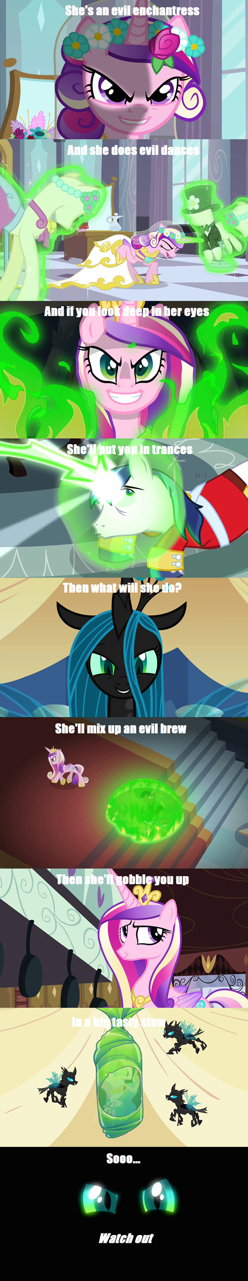 Showing Gallery For Queen Chrysalis And Shining ArmorQueen Chrysalis And Shining Armor