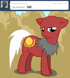 Size: 500x559 | Tagged: asklord-caesar, caesar, fallout: new vegas, ponified, safe, ttotheaffy