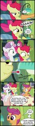 Size: 454x1600 | Tagged: apple bloom, comic, cutie mark crusaders, edit, edited screencap, family appreciation day, safe, scootaloo, screencap, screencap comic, sweetie belle, thermometer
