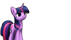 Size: 1024x576 | Tagged: safe, artist:dshou, twilight sparkle, pony, unicorn, female, mare, simple background, solo, standing, transparent background, wavy mouth