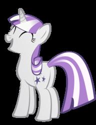 Size: 1534x2000   Tagged: safe, artist:avarick, twilight velvet, pony, unicorn, butt, eyes closed, female, happy, open mouth, plot, simple background, smiling, solo, transparent background, vector