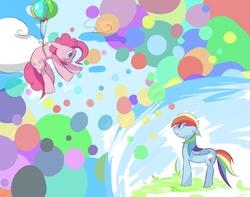 Size: 2500x1968   Tagged: safe, artist:luna77899, pinkie pie, rainbow dash