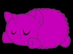 Size: 900x669 | Tagged: safe, artist:bronyboy, fluffy pony, pony, unicorn, fluffy pony foal, newborn