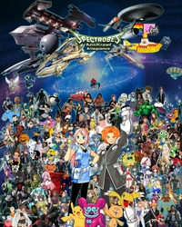 Size: 5760x7200 | Tagged: aang, absurd resolution, adam savage, agumon, al elric, alex russo, alfred f. jones, american dad, annoying orange, aragorn, artist:tigrisisa, arwing, asahina mikuru, ash ketchum, axiom, barely pony related, batman, ben tennyson, birdy the mighty, black knight, blood elf, bruce lee, bugs bunny, buzz lightyear, camp lazlo, captain america, charizard, chihiro, chihiro ogino, chuck norris, chun li, clothes, commander shepard, crash bandicoot, crossover, crossover nexus, daffy duck, dan, dave strider, death note, digimon, dovahkiin, edmund pevensie, edward cullen, edward elric, enterprise, everyone, evil monkey, finn the human, fullmetal alchemist, gamzee makara, gandalf, gandhi, genie, ghost rider, green lantern, grim reaper, guy fieri, han solo, harry potter, hatsune miku, heart of gold, hercules, himeji mizuki, homer simpson, how to train your dragon, indiana jones, inoue orihime, itsuki koizumi, izumi konata, jack skellington, jack sparrow, jake the dog, james bond, jamie hyneman, jerry, jimmy neutron, john egbert, john lennon, john rambo, juliet starling, keroro, king neptune, kirby, kon, kurosaki ichigo, l, lazlo, lightning mcqueen, link, looney tunes, lucky star, lucy, ludwig beilschmidt, maka albarn, mario, master chief, medic, meiko, merrie melodies, metroid, mine turtle, mordecai, mulan, nagato yuki, naruto, nicolas cage, normandy, nyan cat, pantyhose, perry the platypus, peter griffin, peter pan, pikachu, pit (kid icarus), po, pokémon, princess celestia, princess zelda, problem sleuth, pyro, r2-d2, rigby, ringo starr, robocop, ryu, ryuk, safe, sagara sousuke, samus aran, sherlock holmes, shinigami, simba, skyrim, solid snake, sonic the hedgehog, sonic the hedgehog (series), sora, soul eater, spectrobes, spider-man, spirited away, spongebob squarepants, spyro the dragon, stan smith, starsky and hutch, superman, super mario bros., takara miyuki, tardis, teletubbies, tenth doctor, terminator, the elder scrolls, the incredible hulk, the lion king, timmy turner, tinman, toothless the dragon, uchiha sasuke, uss enterprise, vash the stampede, wallace and gromit, wall of tags, wheatley, wile e coyote, willy wonka, winnie the pooh, winry rockbell, wolverine, x-wing, yellow submarine, yoko littner, yoshi