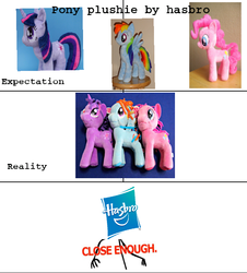 Size: 651x720 | Tagged: funrise, hasbro, irl, photo, pinkie pie, plushie, rainbow dash, safe, twilight sparkle