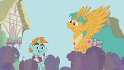 Size: 761x428 | Tagged: alicorn, artist:capnpea, colt, edit, edited screencap, fimbriae, friendship is magic, male, pony, safe, screencap, snails, snailsicorn, snips, snipsicorn, unicorn