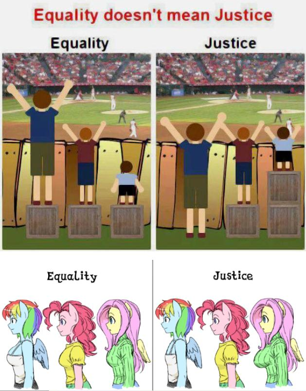 Equality Doesnt Mean Justice >> 214613 Ambiguous Facial Structure Anthro Artist Shepherd0821