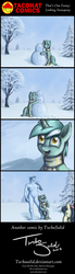 Size: 1000x3600 | Tagged: artist:turbosolid, bon bon, comic, human, lyra heartstrings, lyra's humans, safe, snowman, sweetie drops