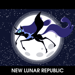 Size: 1024x1024 | Tagged: artist:lon-kamikaze, new lunar republic, nightmare moon, safe