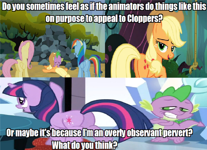 200242 - applejack, background pony strikes again, fluttershy, plot ...