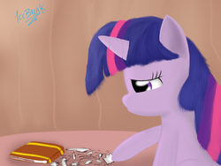 Size: 2000x1500 | Tagged: artist:icebreak23, book, paper, ripped to shreds, sad, safe, twilight sparkle