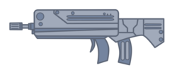 Size: 900x383 | Tagged: barely pony related, famas, gun, safe, style emulation