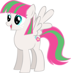 Size: 2388x2467 | Tagged: artist:oceanbreezebrony, blossomforth, safe, simple background, solo, transparent background, vector