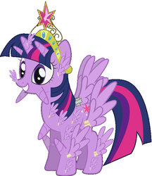 Size: 605x700 | Tagged: safe, artist:flash-draw, edit, twilight sparkle, alicorn, pony, alicorn body part overdrive, alicorn drama, alicorn edit, alicorn overdose, all of the horns, all of the wings, big crown thingy, duct tape, element of harmony, element of magic, female, glue, grin, infinite magic, mare, meme, multiple horns, multiple wings, nightmare fuel, omnicorn, simple background, smiling, spread wings, squee, tape, thanks m.a. larson, the glorious power of flight, this isn't even my final form, trypophobia, twilight sparkle (alicorn), vector, wat, what has science done, where is your god now?, white background