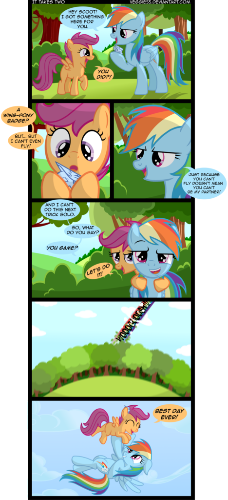 204517 Artist Veggie55 Comic Rainbow Dash Safe Scootaloo Scootaloo Can T Fly Scootalove Derpibooru Rainbow dash encourages scootaloo (flight to the finish) | mlp: artist veggie55 comic rainbow dash