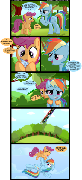 204517 Artist Veggie55 Comic Rainbow Dash Safe Scootaloo Scootaloo Can T Fly Scootalove Derpibooru And i take a bit of a different approach. artist veggie55 comic rainbow dash