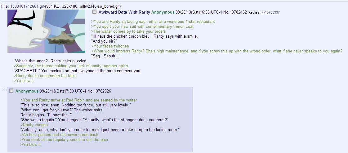 Dating 4chan greentext