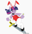 Size: 750x800 | Tagged: safe, artist:zap-apple-acid-trip, twilight sparkle, pony, unicorn, bipedal, blue mane, bunny ears, bunny suit, clothes, crossover, daicon iv, ear piercing, earring, eyelashes, gainax, hooves, horn, jewelry, leotard, long mane, multicolored mane, pantyhose, piercing, pink mane, playboy bunny, purple mane, simple background, solo, sword, sword surfing, white background