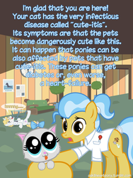 Size: 600x800   Tagged: safe, artist:adiwan, doctor fauna, ask the vet pony, ask, cute, heart attack, tumblr