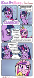 Size: 2903x6566 | Tagged: safe, artist:redapropos, princess cadance, shining armor, twilight sparkle, alicorn, pony, and that's how flurry heart was made, comic, edwin maki you magnificent bastard, female, implied sex, innuendo, male, mare, shiningcadance, shipping, sisters-in-law, straight, too much information, twilight sparkle (alicorn)