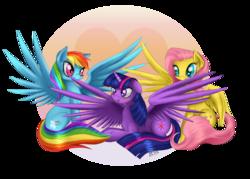 Size: 2800x2000   Tagged: safe, artist:thenornonthego, fluttershy, rainbow dash, twilight sparkle, alicorn, pegasus, pony, blushing, c:, chest fluff, cute, female, floppy ears, fluffy, flutterdashlight, high wing, leg fluff, lesbian, mare, nom, preening, prone, shipping, simple background, sitting, smiling, spread wings, transparent background, twidash, twilight sparkle (alicorn), twishy, wing fluff, wing noms
