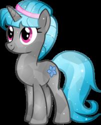 Size: 4439x5500 | Tagged: safe, artist:theshadowstone, oc, oc only, oc:star flower, crystal pony, pony, unicorn, absurd resolution, female, mare, solo