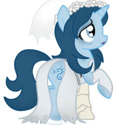 Size: 900x993 | Tagged: artist:scratch-e-digital, clothes, corpse bride, dress, emily, ponified, pony, safe, solo, the corpse bride, unicorn