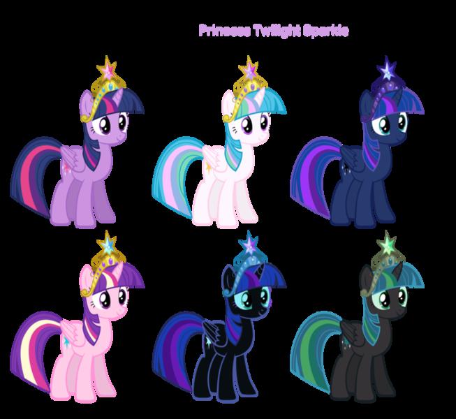 Как из твайлайт сделать принцессу