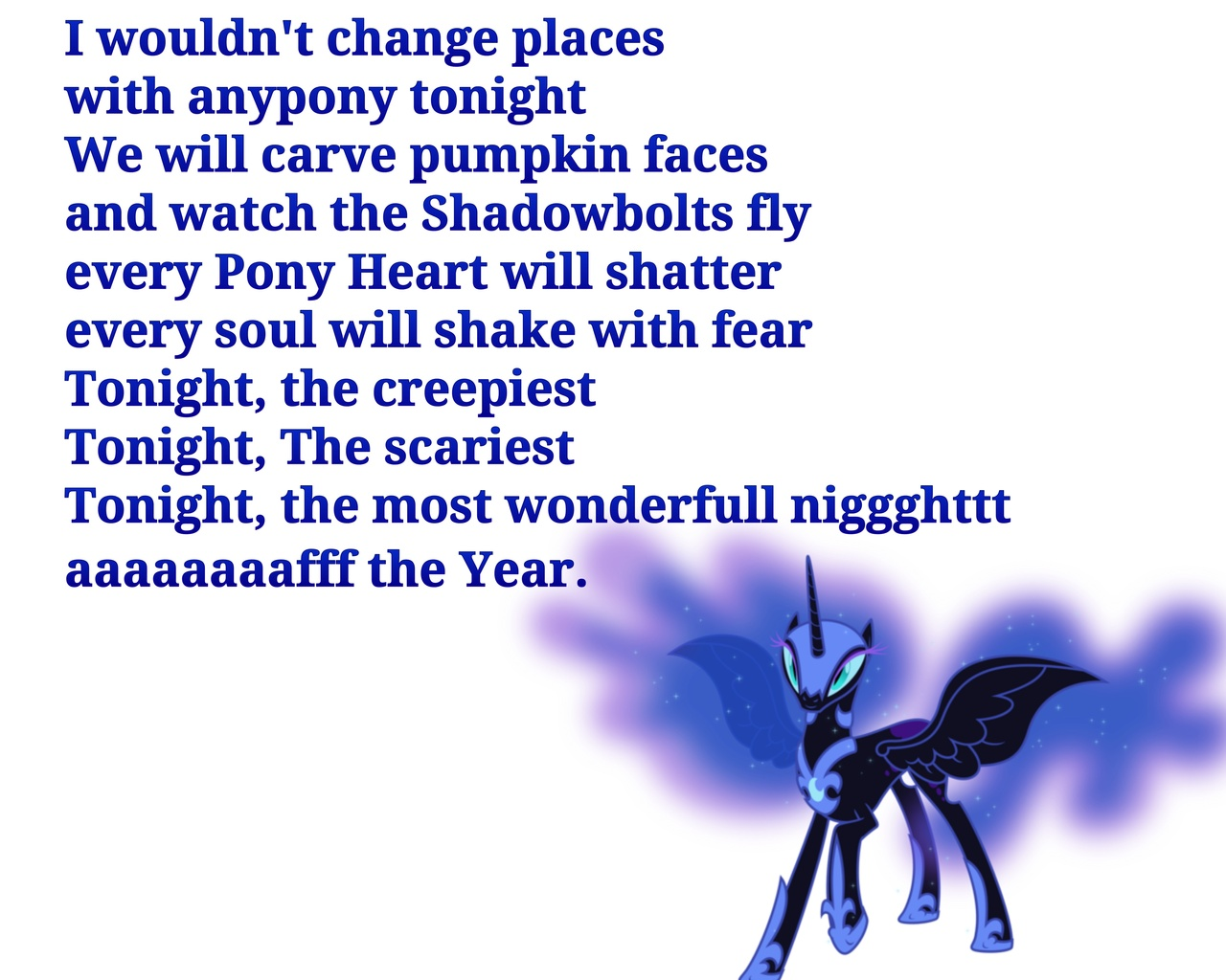 451908 - anything could happen on halloween, nightmare moon, safe