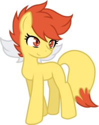 Size: 2399x3035 | Tagged: artist:he4rtofcourage, augmented tail, fennekin, pokémon, pokémon x and y, ponified, safe, simple background, solo, transparent background, vector