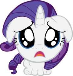 Size: 3000x3117 | Tagged: artist:crimson, artist:misterdavey, begging, chibi, cute, d:, floppy ears, frown, giant head, looking at you, puppy dog eyes, raribetes, rarity, sad, safe, simple background, smile hd, solo, transparent background, vector