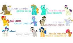Size: 800x480 | Tagged: adventure in the comments, artist:trotsworth, babs seed, bar bar, bob steed, bon bon, boy bon, brad seed, brynna drummond, clutzy doo, colleen clinkenbeard, cough drops, derpy hooves, dj col-7, dj pon-3, doctor whooves, dopey hooves, eminem, emmanuelle chriqui, flare warden, flash sentry, gilbert gottfried, gilda, griffon, guilder, guyra, lambert harpsinger, lightning dust, lightning powder, lyle harpsy, lyra heartstrings, meme, octavia melody, octavius, octavius symphony, otto octavius, pony, professor whooves, quinton flynn, rami malek, record scrape, rule 63, rupert everett, ryan o'donohue, safe, seth green, seth macfarlane, sunset glare, sunset shimmer, sweetie drops, the doctoress, time turner, tristan, trixie, vincent corazza, vinyl scratch, voice actor