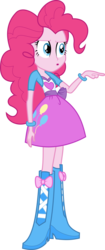 Size: 2515x6000 | Tagged: absurd res, artist:synch-anon, artist:twiforce, equestria girls, pinkie pie, safe, simple background, solo, transparent background, vector