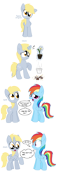 Size: 1536x4608 | Tagged: alicorn, alicornified, all pony races, artist:pupster0071, derpicorn, derpy hooves, earth pony, flower pot, pegasus, pony, race swap, rainbow dash, safe, scrunchy face, simple background, unicorn, white background, xk-class end-of-the-world scenario