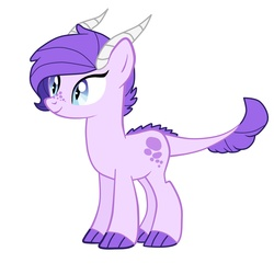 Size: 3000x3000 | Tagged: safe, artist:kianamai, oc, oc only, oc:crystal clarity, dracony, kilalaverse, interspecies offspring, next generation, offspring, parent:rarity, parent:spike, parents:sparity, solo