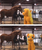 Size: 629x750 | Tagged: safe, applejack, earth pony, horse, human, pony, boop, clothes, costume, cute, female, horse-pony interaction, irl, irl horse, irl human, jackabetes, mare, noseboop, photo, quadsuit, wat