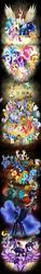 Size: 1024x6766 | Tagged: dead source, safe, artist:xeladuart, aloe, amethyst star, angel bunny, apple bloom, applejack, babs seed, berry punch, berryshine, big macintosh, blues, bon bon, braeburn, bulk biceps, button mash, caramel, carrot cake, carrot top, cheerilee, cloud kicker, cloudchaser, cup cake, daisy, daring do, derpy hooves, diamond tiara, dinky hooves, discord, dj pon-3, doctor whooves, donut joe, fancypants, flam, flash sentry, fleur-de-lis, flim, flitter, flower wishes, fluttershy, gilda, golden harvest, granny smith, gummy, iron will, king sombra, lightning dust, lily, lily valley, linky, little strongheart, lotus blossom, lyra heartstrings, mayor mare, minuette, moondancer, neon lights, night light, nightmare moon, noteworthy, nurse redheart, octavia melody, opalescence, owlowiscious, photo finish, pinkie pie, pipsqueak, pound cake, princess cadance, princess celestia, princess luna, pumpkin cake, queen chrysalis, rainbow blaze, rainbow dash, rainbowshine, rarity, rising star, roid rage, roseluck, rumble, scootaloo, screwball, sea swirl, seafoam, shining armor, shoeshine, silver spoon, smarty pants, snails, snips, soarin', sparkler, spike, spitfire, sunset shimmer, sunshower raindrops, sweetie belle, sweetie drops, tank, time turner, tom, trixie, twilight sparkle, twilight velvet, twist, vinyl scratch, wild fire, winona, zecora, oc, oc:fausticorn, alicorn, changeling, changeling queen, diamond dog, draconequus, earth pony, griffon, pegasus, pony, rapidash, unicorn, zebra, equestria girls, abstract background, alicorn amulet, alicorn tetrarchy, background six, big crown thingy, brad, cake family, clothes, costume, crystallized, cutie mark crusaders, discorded, dress, element of magic, everypony, fall formal outfits, female, flim flam brothers, flower trio, jewelry, lauren faust, mane of fire, mane seven, mane six, petrification, ponified, rapidash twilight, rearing, regalia, shadowbolts, shadowbolts costume, spa twins, statue, sunset satan, tags galor