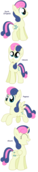 Size: 1144x5080 | Tagged: alicorn, alicornified, all pony races, artist:pupster0071, bon bon, bonicorn, earth pony, eyes closed, flying, grin, looking at you, :o, pegasus, pony, race swap, safe, smiling, sweetie drops, unicorn