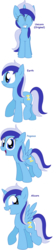 Size: 1072x4992 | Tagged: alicorn, alicornified, all pony races, artist:pupster0071, earth pony, minuette, minuetticorn, pegasus, pony, race swap, safe, simple background, white background