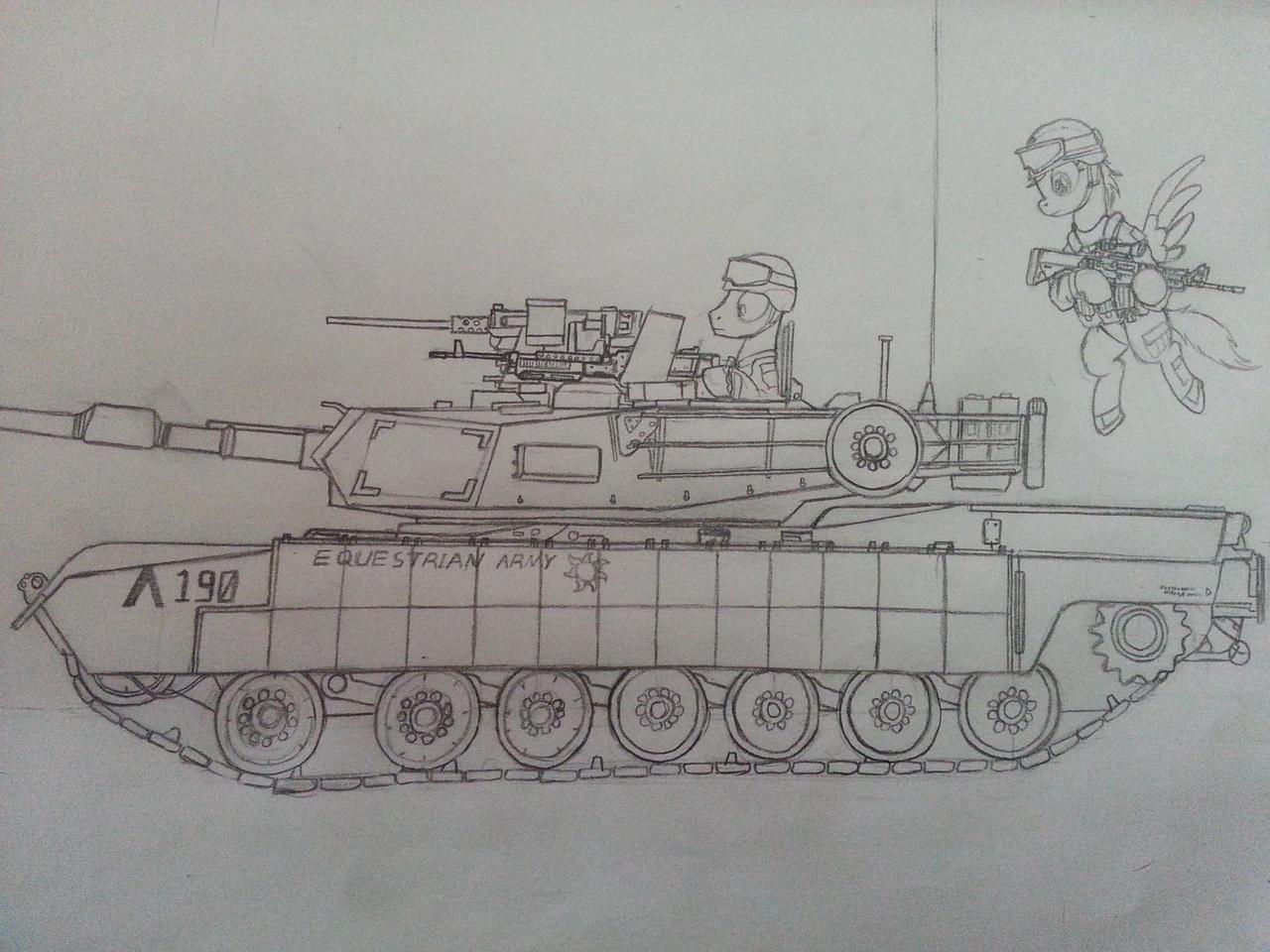 485585 - army, artist:orang111, flying, gun, helmet, hoof hold, m1