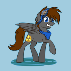 Size: 500x500   Tagged: safe, artist:anjevalart, oc, oc only, aero ace, clothes, goggles, scarf, solo