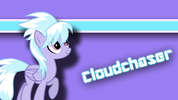 Size: 1600x900   Tagged: safe, artist:arclightkey, cloudchaser, solo, vector, wallpaper