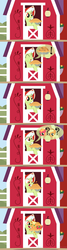 Size: 1200x4500 | Tagged: all glory to the beaver grenadier, apple, applejack, apple pie, artist:beavernator, baby, babyjack, baby macintosh, baby pony, big macintosh, comic, foal, food, granny smith, pie, pony, safe, sweet apple acres