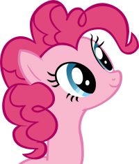 Size: 200x235 | Tagged: safe, artist:biodegradablebox, pinkie pie, earth pony, pony, female, picture for breezies, simple background, smiling, solo, transparent background