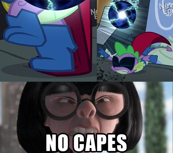 full 503230 cape, caption, clothes, edna mode, meme, no capes, power
